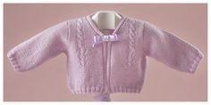 patrón gratis de chaqueta con ovillos de lana Katia