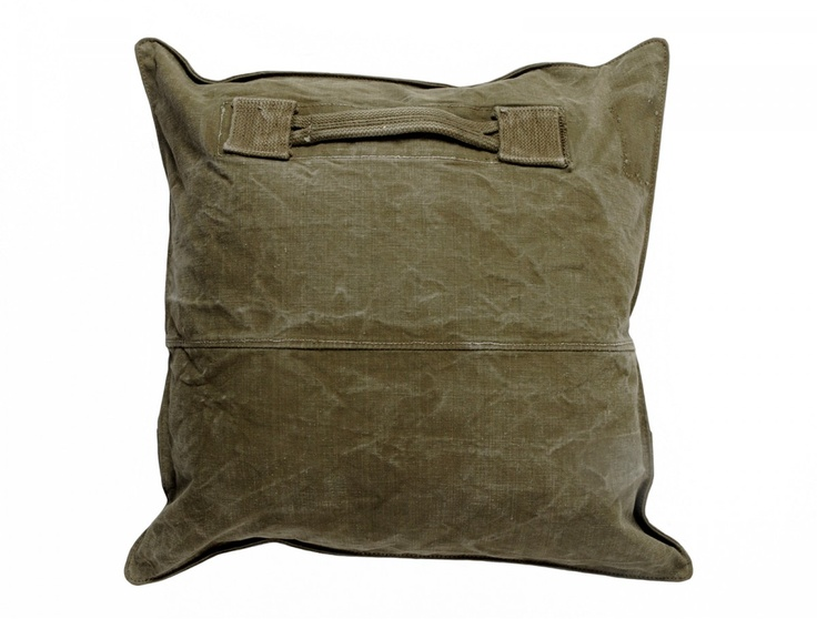 Decorative cushion / pillow: Army 003 By Yves Andrieux