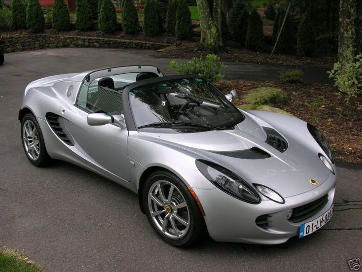 Lotus Elise. I always have liked Lotus.