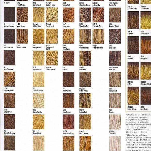 Ion demi permanent hair color chart hair color charts hair