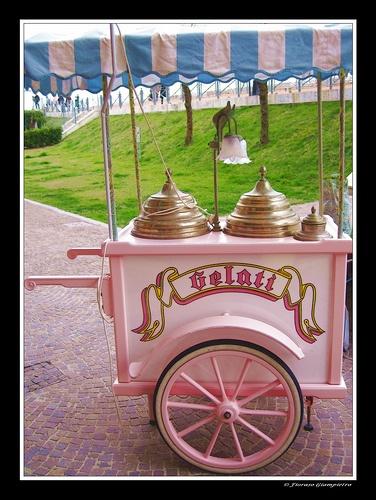 Ice cream - carretto
