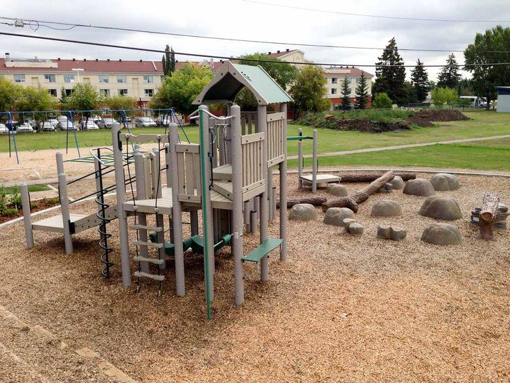 McQueen Community League Playground in Edmonton, Alberta