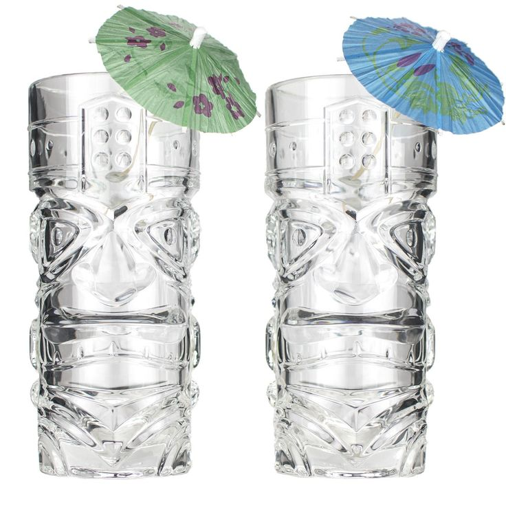 Premium 15oz Tiki Glass ~ Set of 2 ~