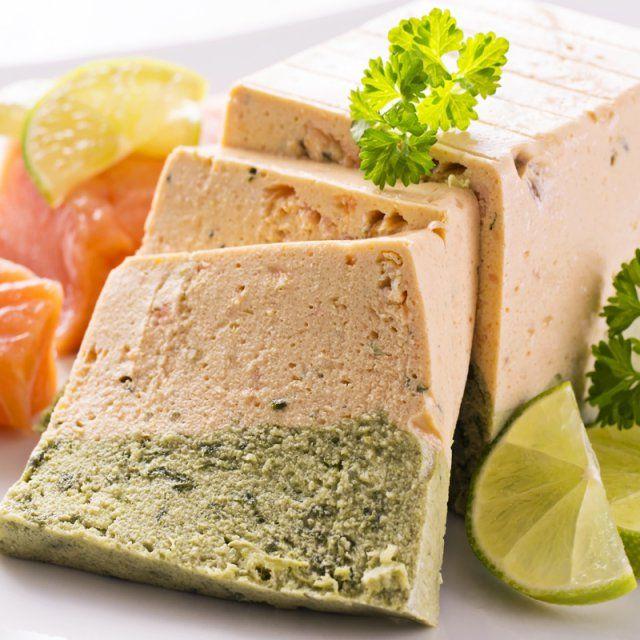 terrine de saumon aux blettes