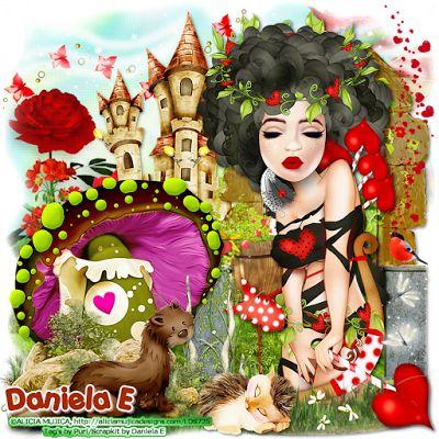 """MI RINCÓN GÓTICO: CT for Daniela E Designs, """"""""Hearts Queen"""""""""""