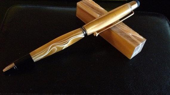 Acrylic stylus Cross pen by BluDux on Etsy, $24.95