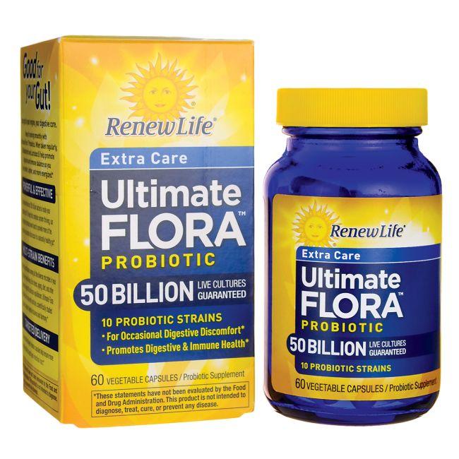 Renew LifeExtra Care Ultimate Flora Probiotic - 50 Billion