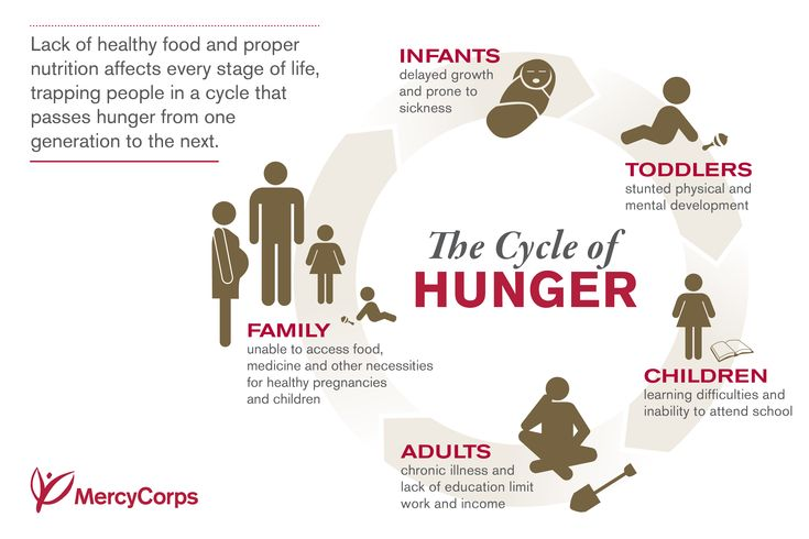 Hunger is more than missing a meal, it is a lifelong cycle that effects millions of individuals on a daily basis causing illness, death, and diseases. In Africa this vicious cycle effects more than 227 million people. This shows how chronic hunger can influence and change the way you live your life from infancy to adulthood.