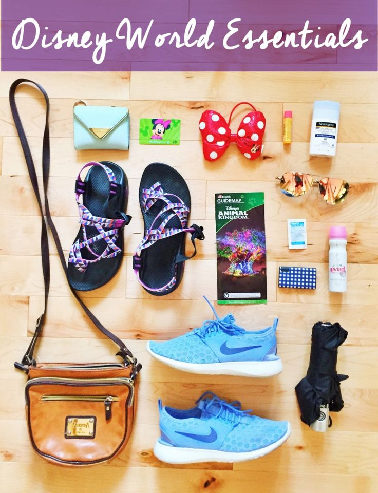 Disney World Essentials - necessities to pack for your next trip!