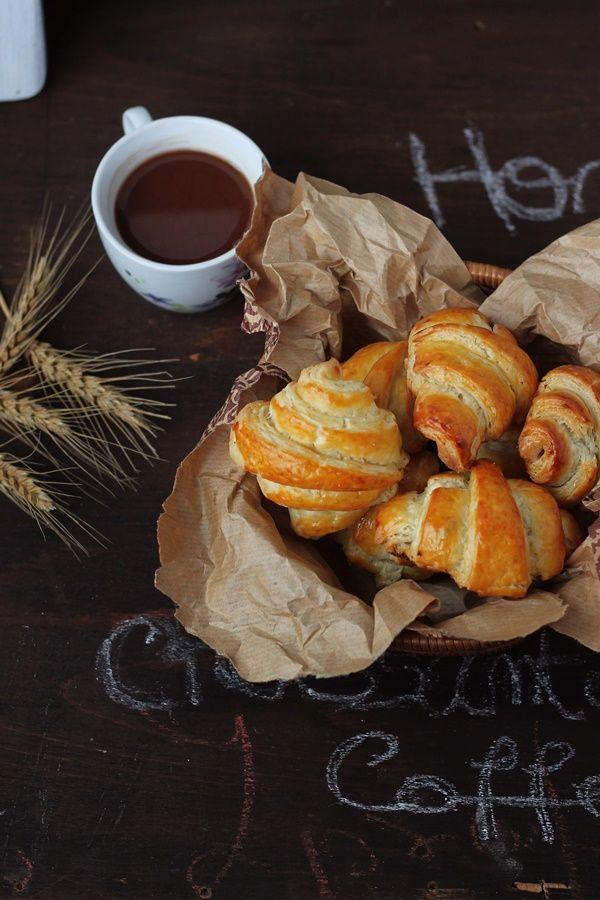 Croissante frantuzesti/French Croissant | Pasiune pentru bucatarie
