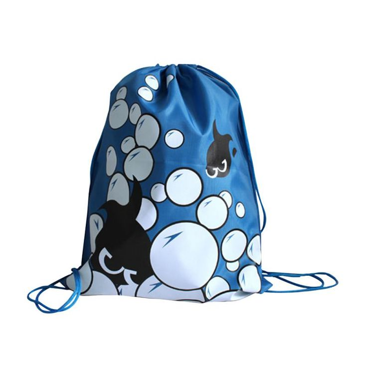 New! Swimming bags Drawstring Beach Bag Sport Gym Waterproof Backpack Swim Dance Drawstring Oxford Bag