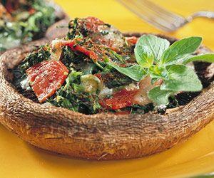 Portobello Pizzettas | Recipe