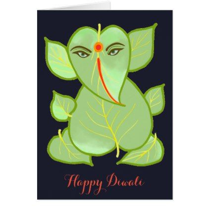 Abstract Ganesha Happy Diwali Greeting Card – diy cyo customize create your own … 5aab5137bdb903df4bacabf32913b759