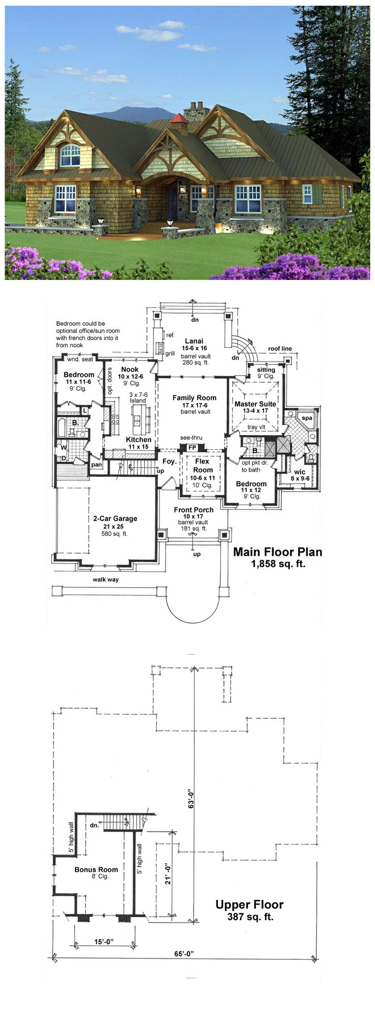 16 best tudor style house plans images on pinterest