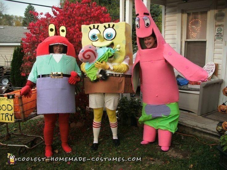 17 best ideas about spongebob halloween costume on