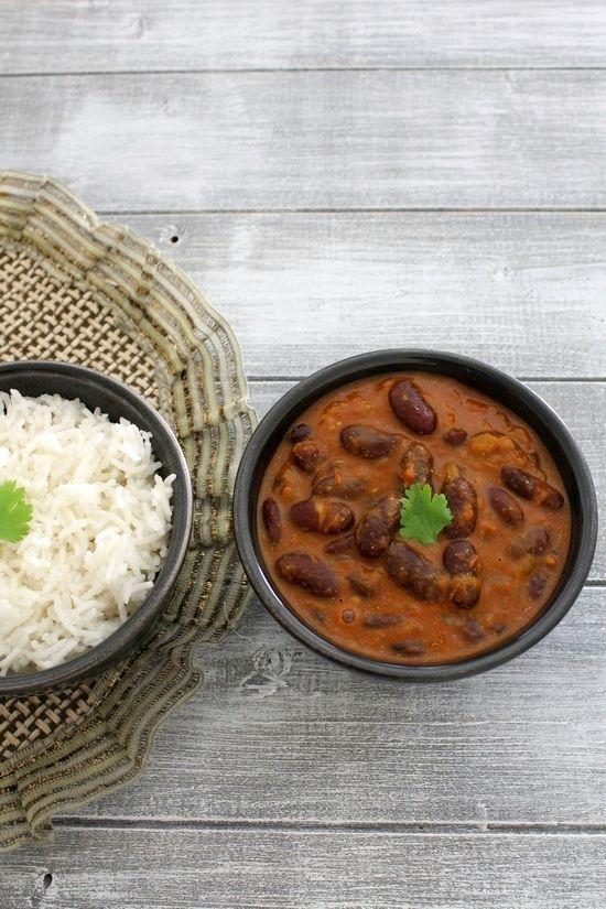 Punjabi Rajma Recipe  Red kidney beans curry   Rajma masala