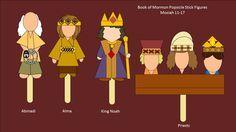 Abinadi, Alma, King Noah Mosiah 11-17