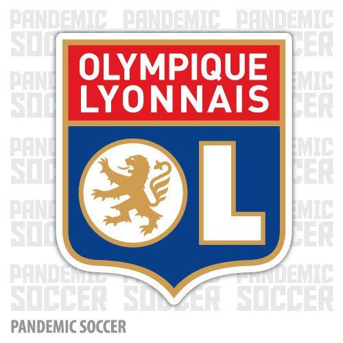 Olympique Lyon France Vinyl Sticker Decal