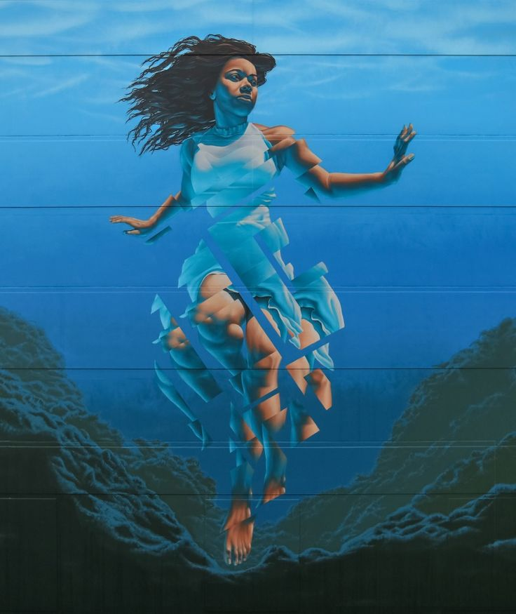 """""""Pania of the Reef"""" by James Bullough in Napier, New Zealand"""