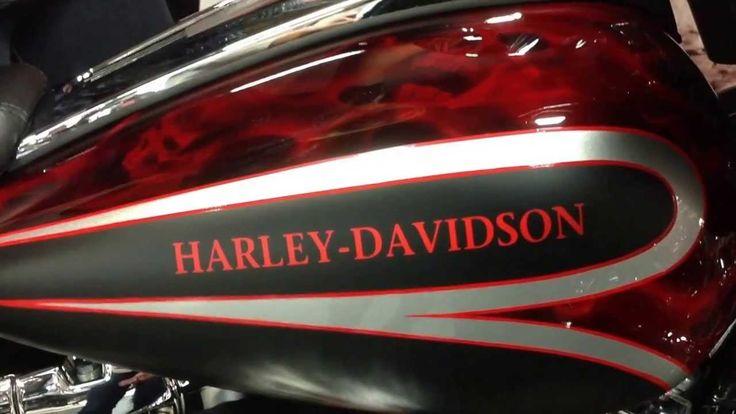 Custom Harley Paint Jobs   2013 STREET GLIDE Harley-Davidson FLHX! 1 off custom! LED, Carlini and ...