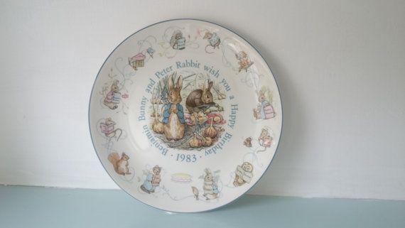 Vintage Beatrix potter Peter Rabbit retro by thevintagemagpie01