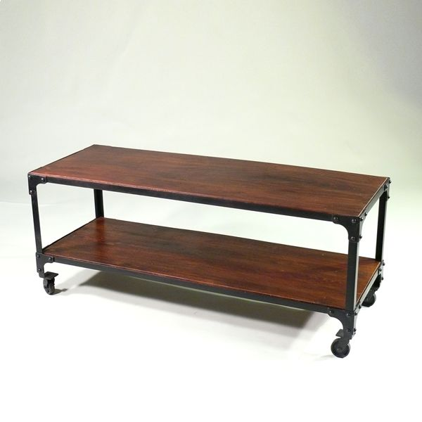 Couchtisch Oder TV Konsole Factory Cart For The Home Pinterest Industrial Table
