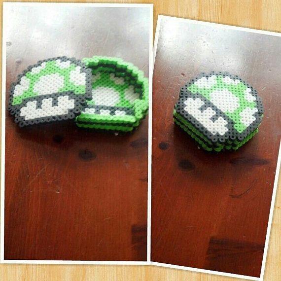 Super Mario Mushroom Hama Box by OceanicCorpse on Etsy http://handcraftpinterest.blogspot.com/