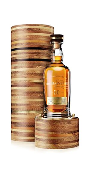 Balvenie 50 Year Old Single Malt Whisky available from Whisky Please.