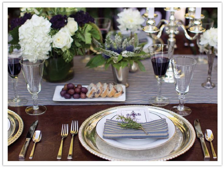 winery tablescape
