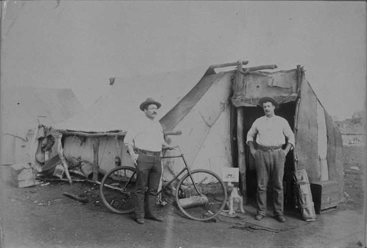 024376PD: A miner's camp, Eastern Goldfields, ca 1895 http://encore.slwa.wa.gov.au/iii/encore/record/C__Rb2971398?lang=eng