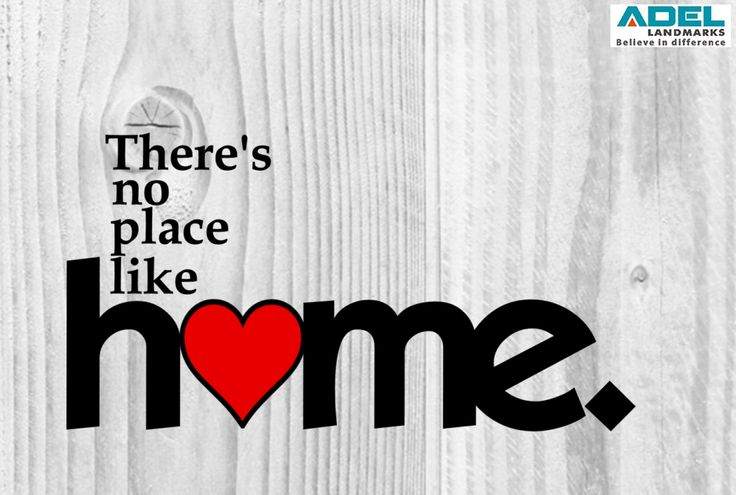 There is no place like home! #home #loveforhome #realestate #quote #adellandmarks #adellandmarkslimited