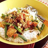 Recept - Indische kip met rijst en boontjes - Allerhande