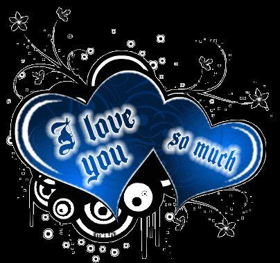 I Love You Glitter Graphics | Glitter Text » Love » I love you so much