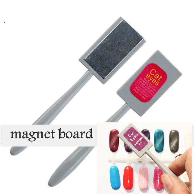 sales 2016 New Original Magnet Magic Board Nail Tools for UV Cat Eyes Polish Gel Decals Nails Manicure Art  7 Pattern option D10