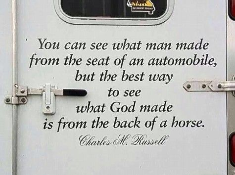 TRUTH of the day!  TGIF & happy riding! ...from all of us at http://pahorsemall.com/