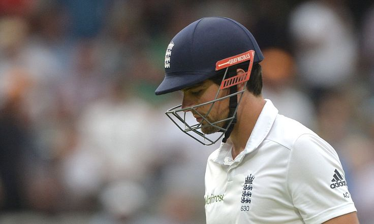 BUMBLE AT THE TEST: Alastair Cook's captaincy hangs by a thread