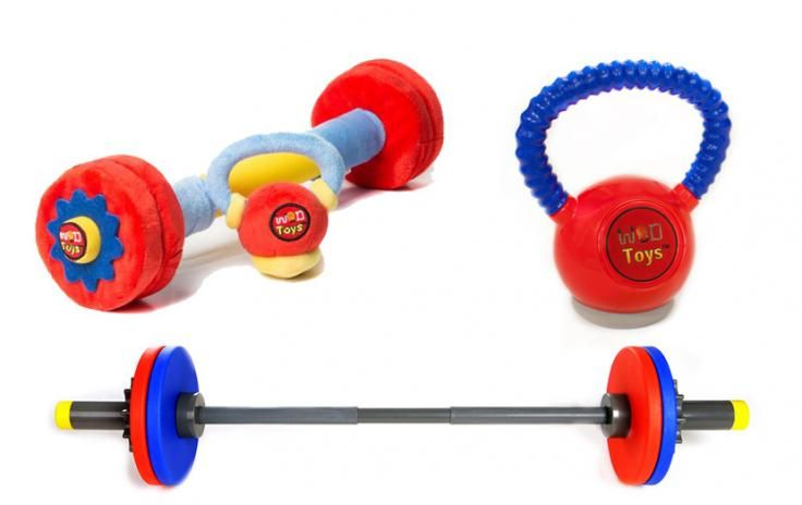 WOD Toys - CrossFit Toys for Kids - Rogue Fitness