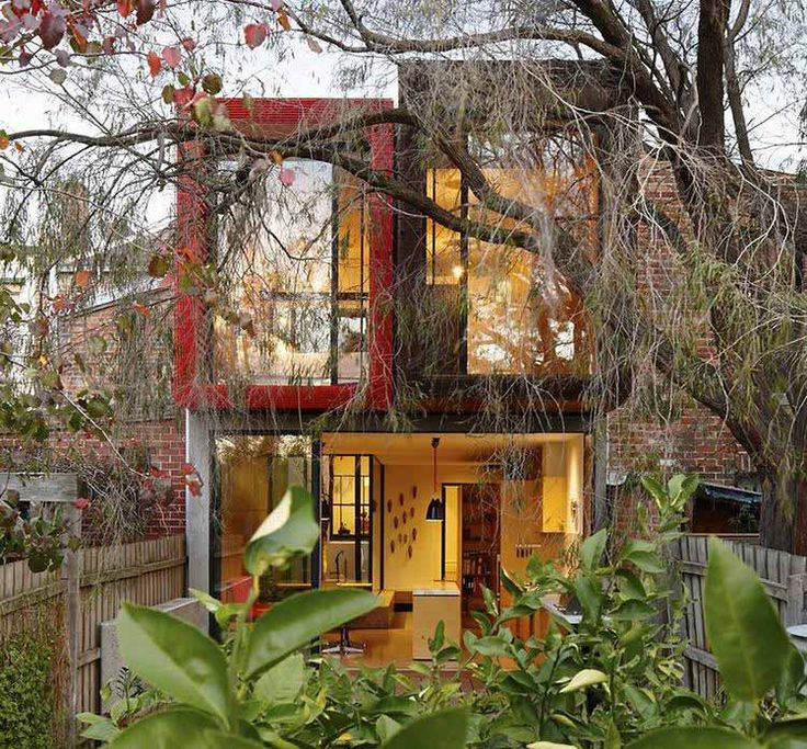 Contemporary Home In Melbourne With A Conserved Japanese Maple Tree By  Andrew