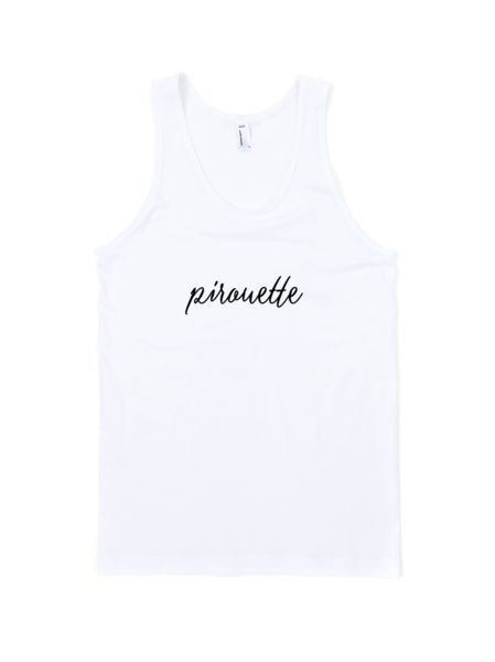 Pirouette Youth Tank Top. #danceclothing #danceapparel #dancerclothes #balletdancer #ballet