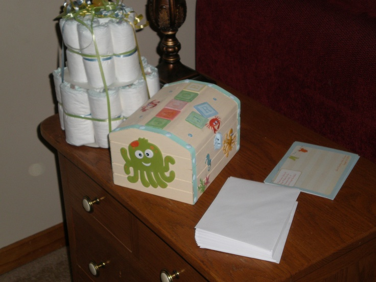 Baby Sea box: Baby Boxes, Baby Sea, Shower Items