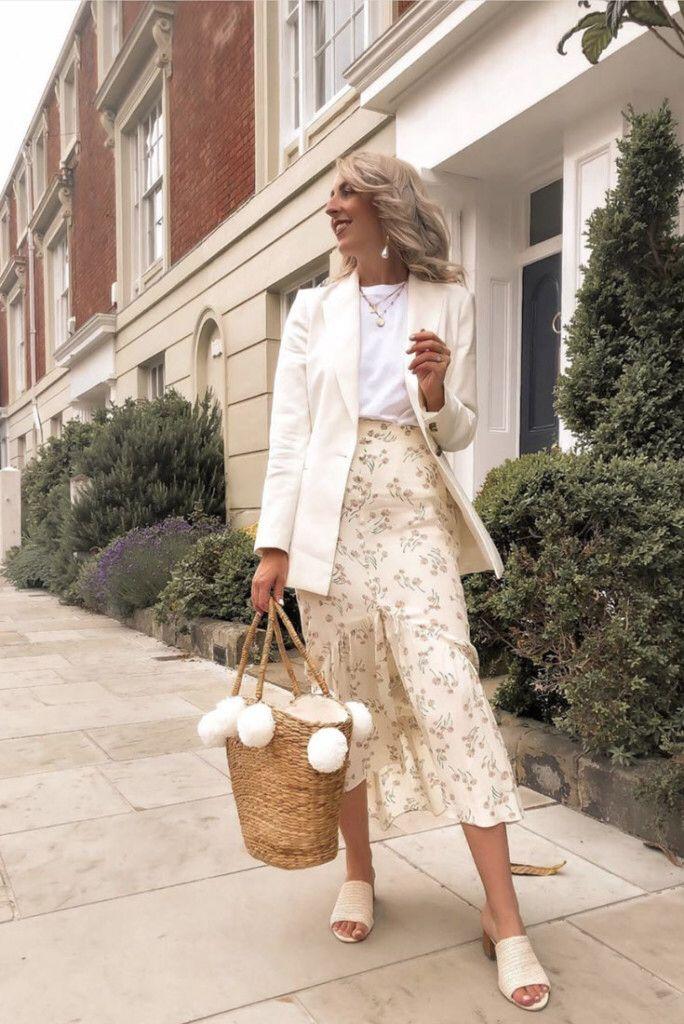 15 inspirações de looks urbanos com bolsa de palha | Ideias ...