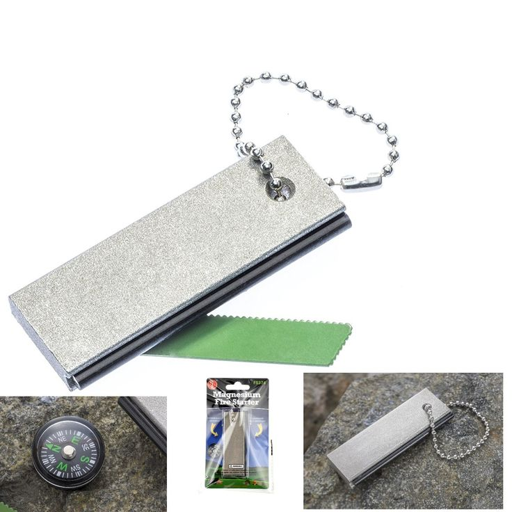 All-Weather Emergency 2-IN-1 Fire Starter & Magnesium SE FS374 Fuel Bar New #SE