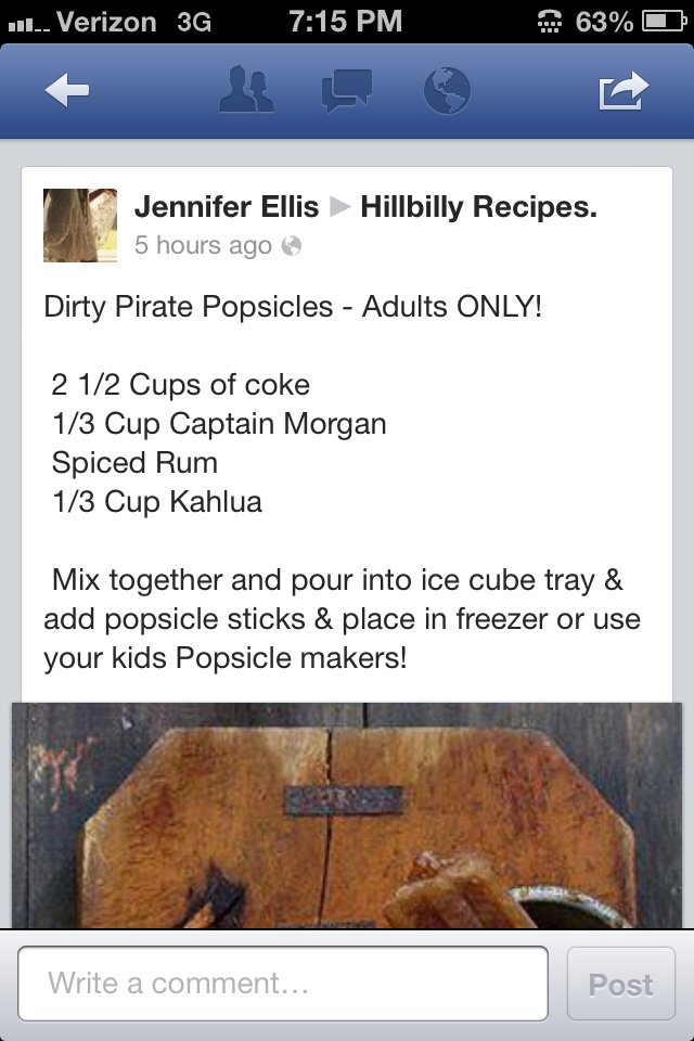 popsicles dirty pirate popsicles recipe from tablespoon dirty pirate ...