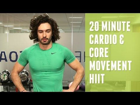 20 Minute Cardio & Core HIIT | The Body Coach - YouTube