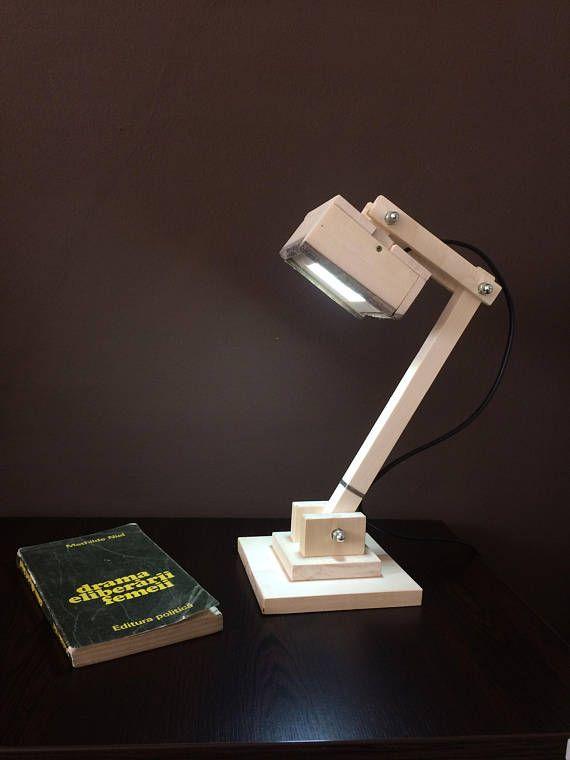 Wood lampDesk LampTable Lamp LedReading LampOffice