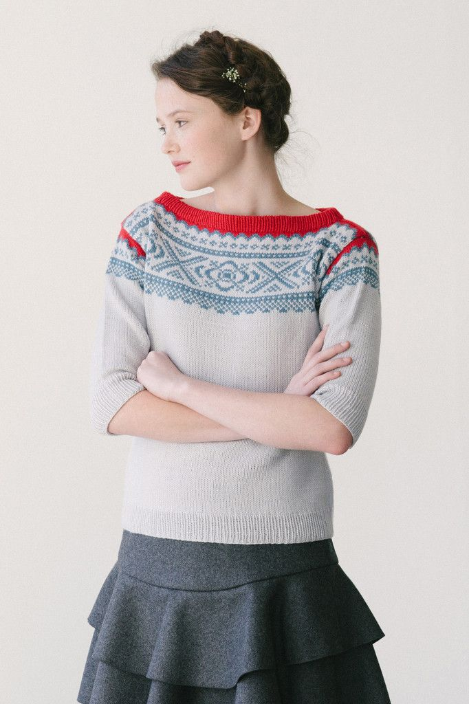 ebba by dianna walla / in quince & co. chickadee