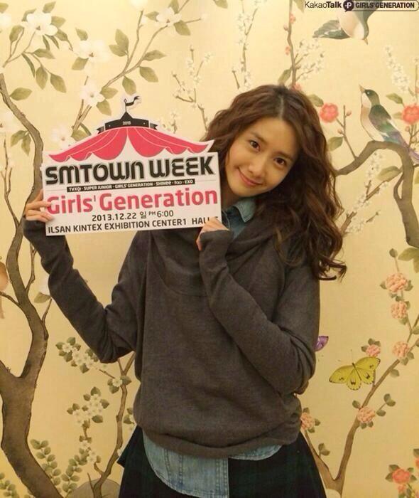 #Yoona #SNSD #GG #GirlsGeneration #Kpop #Cute #SmtownWeek #Smtown ♥
