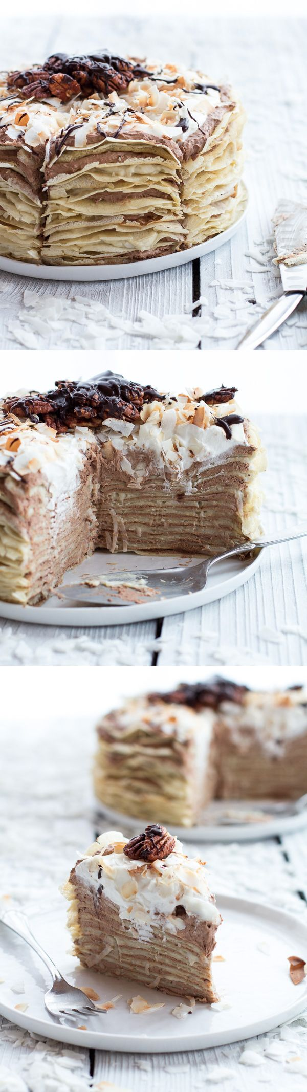 chocolate mousse rum crepe cake recipe layers pancakes kremsnite torta recept how to easy better baking bible blog
