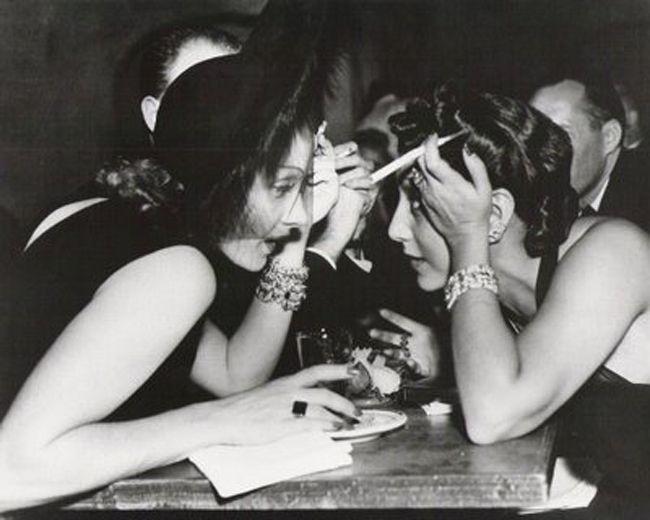 Apasionada y atormentada relación entre Edith Piaf y Marlene Dietrich