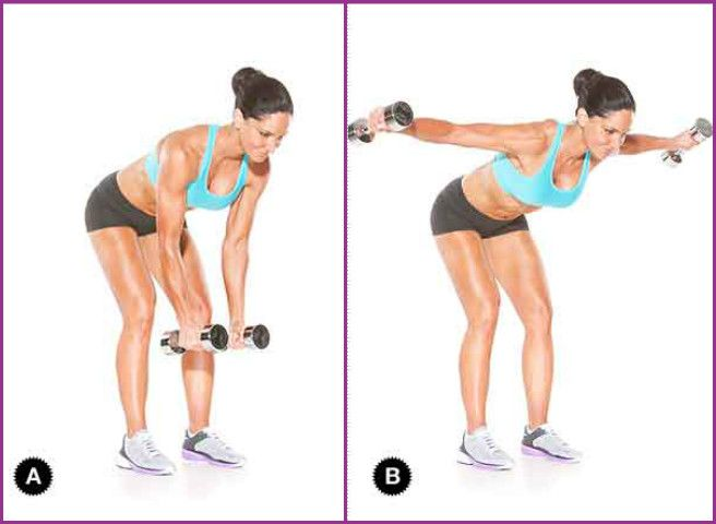 4 Quick Easy Exercises to Get Rid Of Bra Bulge Fat Video - Crisscross reverse fly